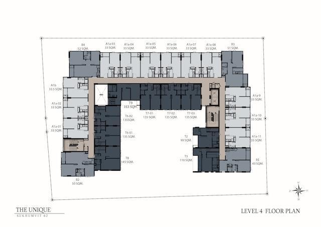 floor plan the unique sukhumvit 62:1 L4