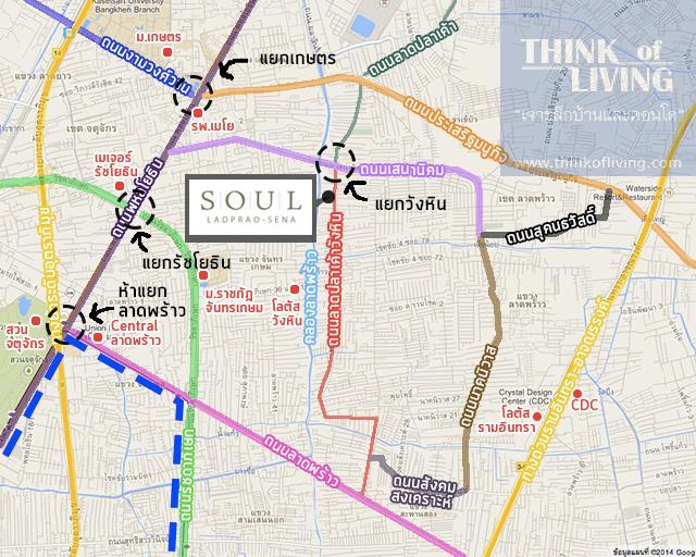map soul