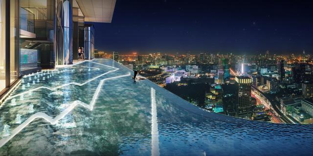 ไอดีโอ คิว สยาม-ราชเทวี_สระว่ายน้ำ (2)