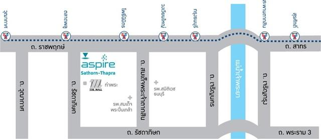 Map_aspire sathorn - thapra