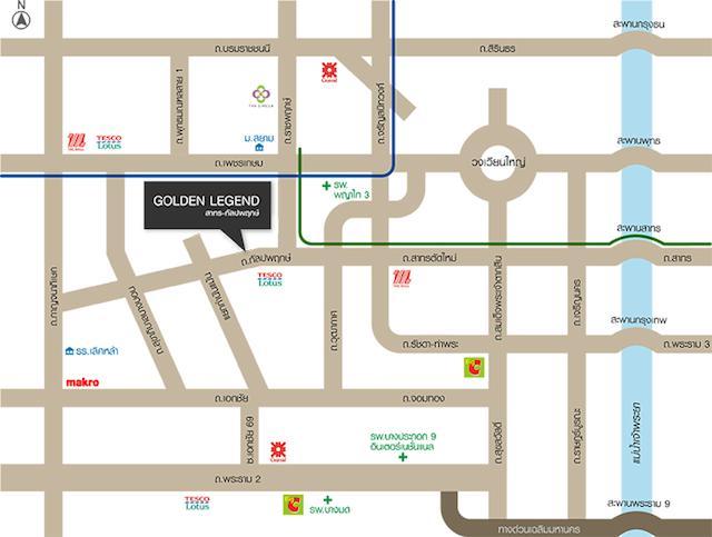 golden legend map