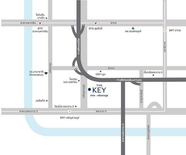 TheKeyเจริญราษฎร์_Map_Official