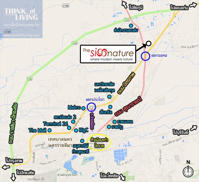 TheSignatureนครราชสีมา_Map_Area