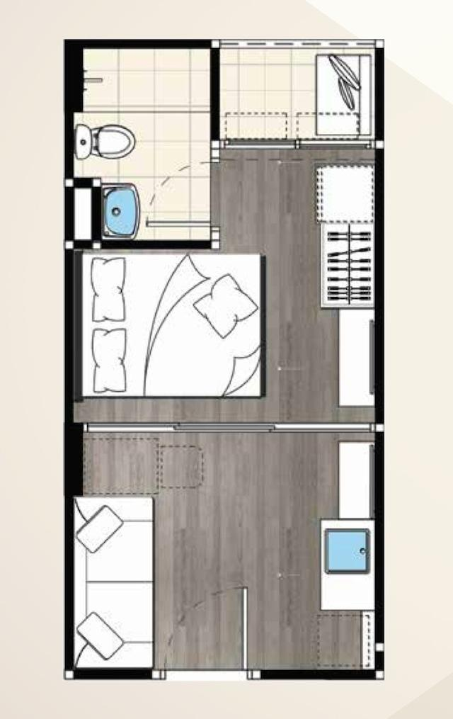 cabana 1 bed type Bs