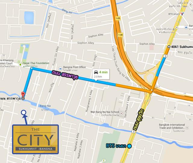 TheCityสุขุมวิท-บางนา_Map_Route