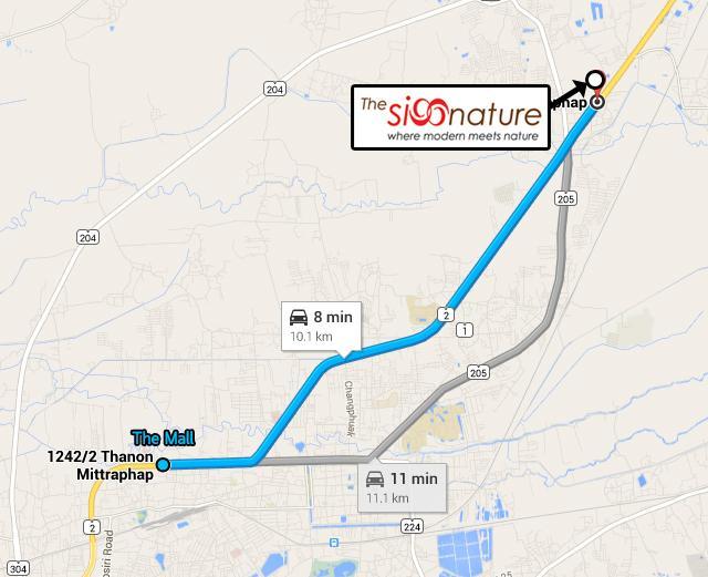 TheSignatureนครราชสีมา_Map_Route