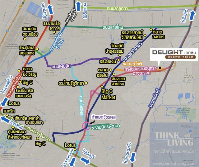 delight MAP 3km x