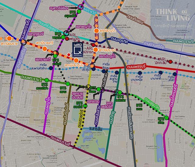 แผนที่รถไฟฟ้าสีส้ม640