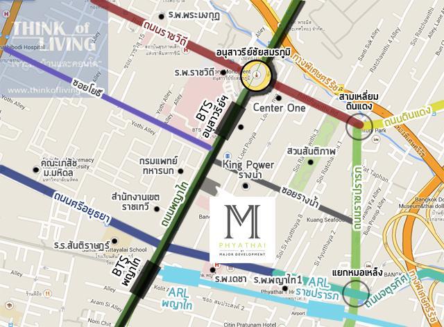 MAP 2 mass m phyathai
