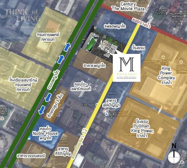 MAP 4 boundary m phyathai x