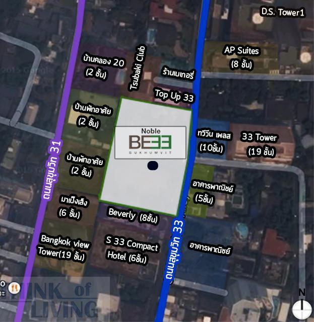 แผนที่ซูมมม Noble33