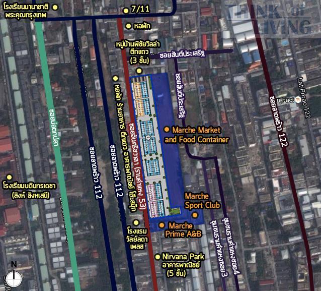แผนที่ซูม Chic district