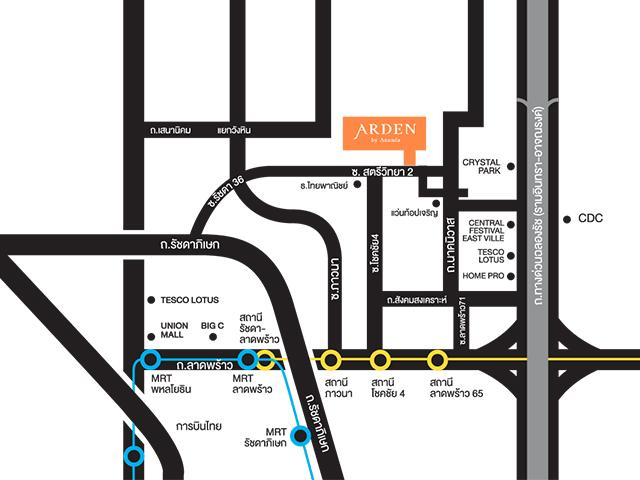Arden Ladprao 71 _ MAP Project