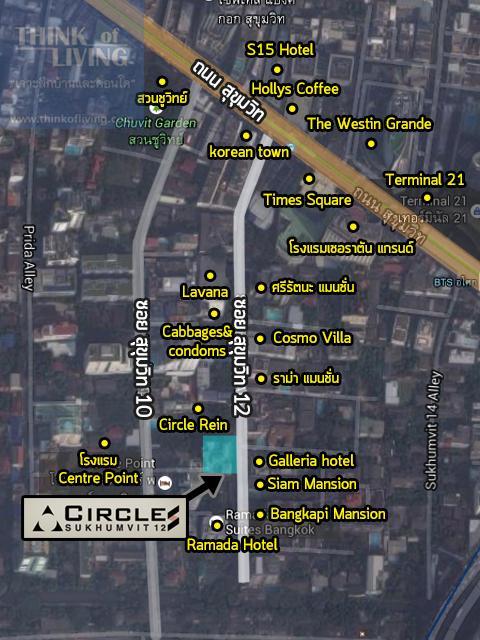 Circle S zoom map