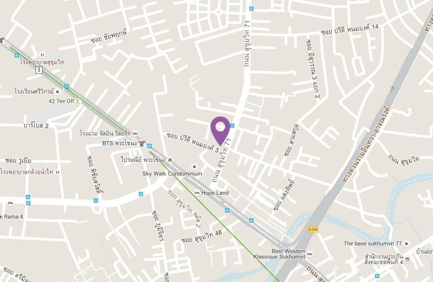 the-line-sukhumvit71_Map