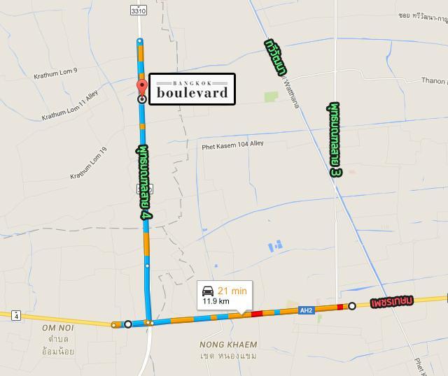 BKB-ปิ่นเกล้าเพชรเกษม_Map_Route