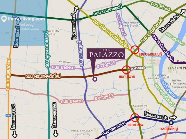 The Palazzo จรัญ Overall map_2