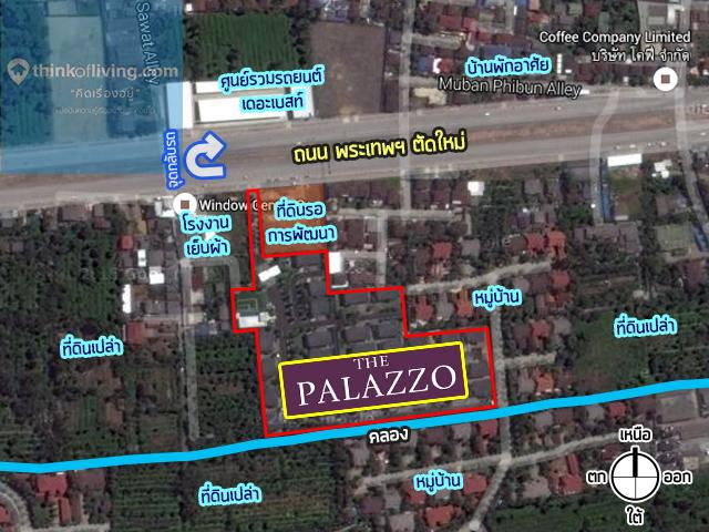The Palazzo จรัญ Zoom MAP_3