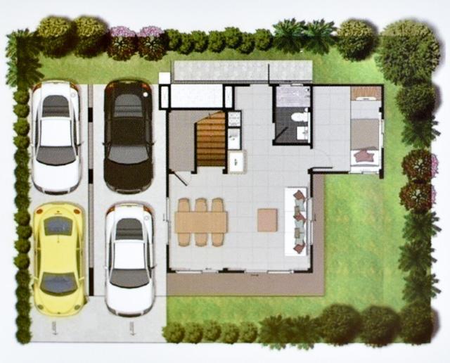 Casa Grand สายไหม - House Plan 1-1