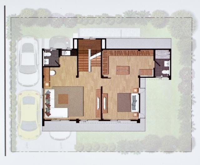 Casa Grand สายไหม - House Plan 1-2