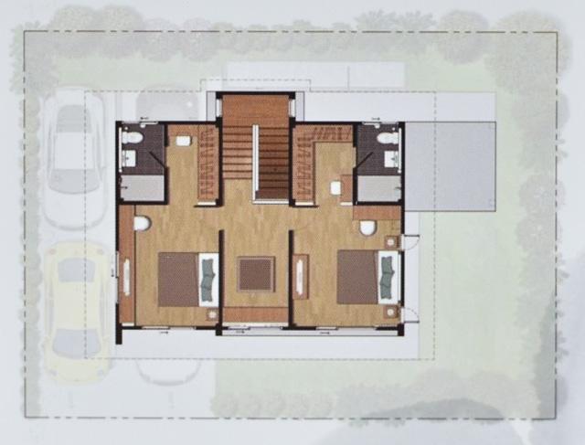 Casa Grand สายไหม - House Plan 1-3