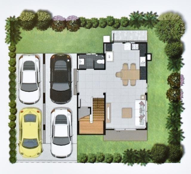 Casa Grand สายไหม - House Plan 2-1