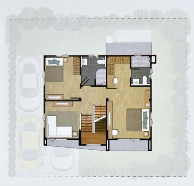 Casa Grand สายไหม - House Plan 2-2