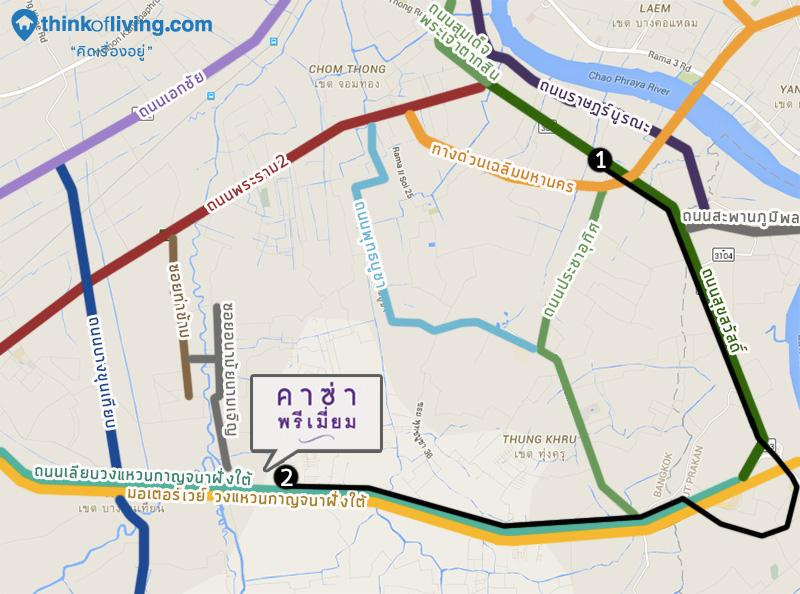 MAP 3 route
