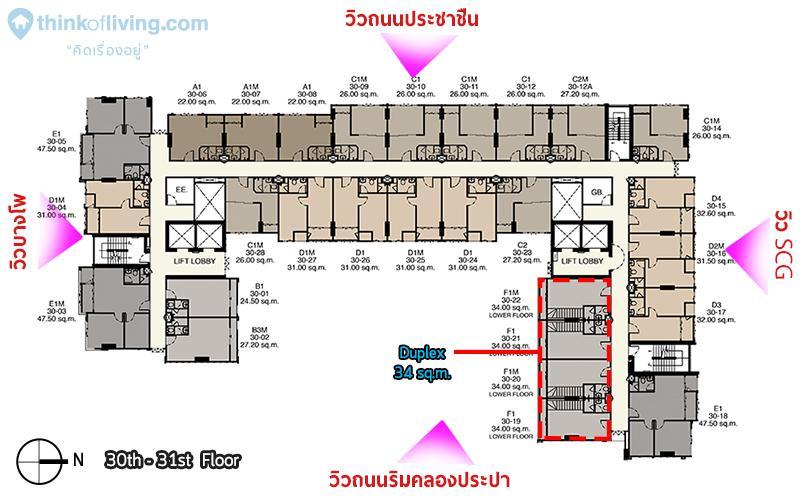 30-31 floor