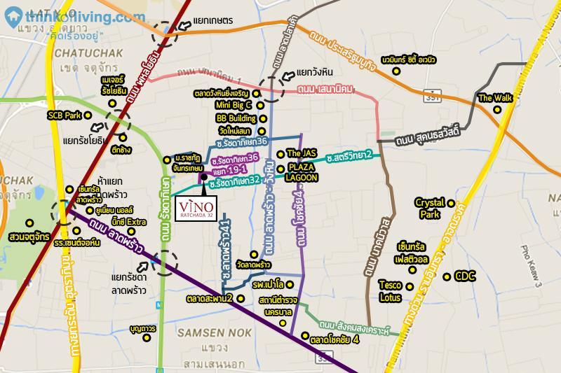 Vino MAP สถานที่