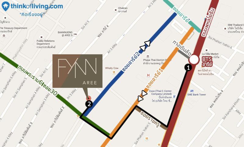 MAP4 routewalk