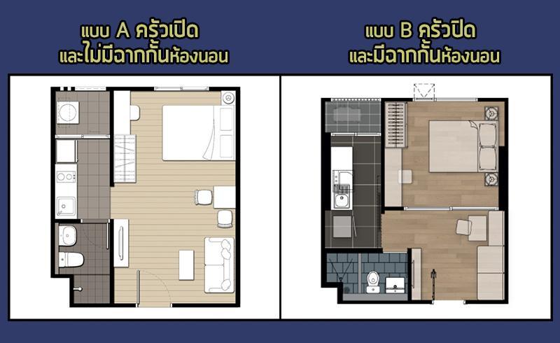 เปรียบเทียบห้อง