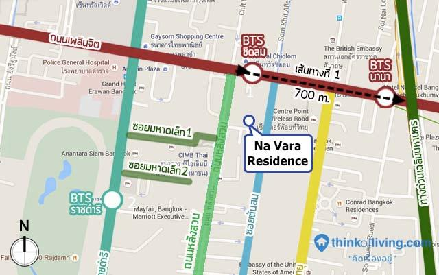 MAP route 1