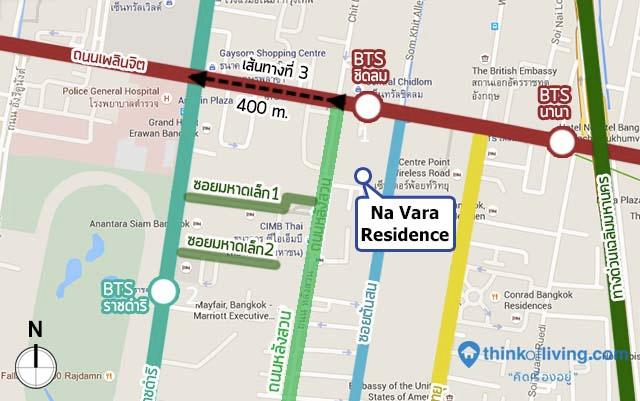 MAP route 3