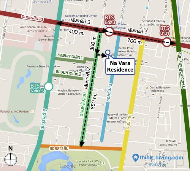 MAP route all