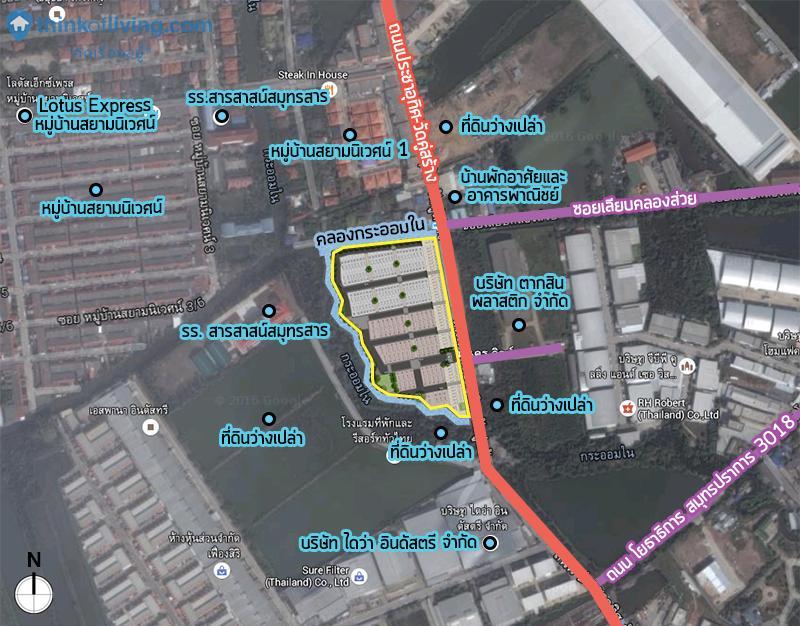 Map Zoom สินนคร01