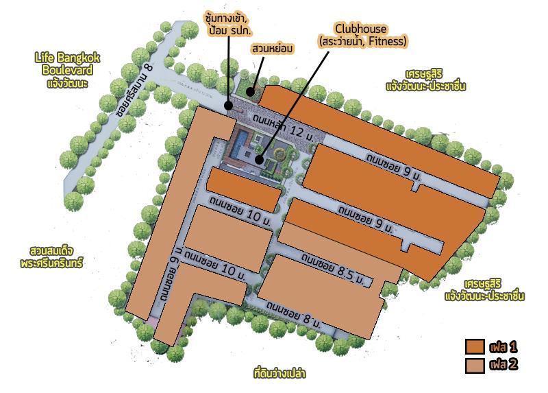 Map โครงการ
