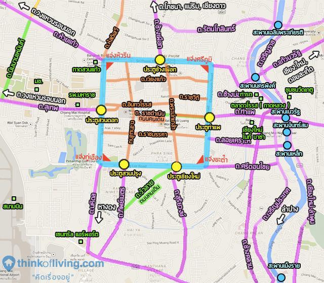 dcondo nim_แผนที่ในตัวเมือง