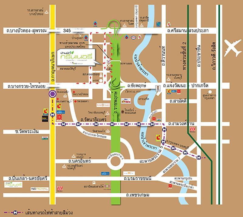 แผนที่จากโครงการ
