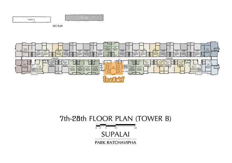 7th-28th FLOOR PLAN (TOWER B)
