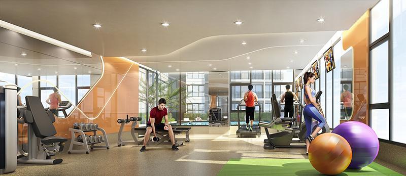 Fitness -City resort rama8