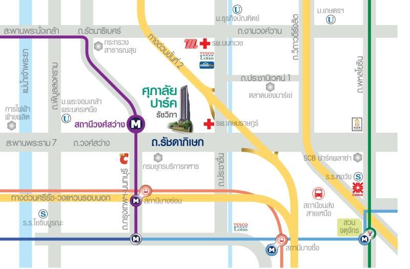Map-Park-Ratchavipha