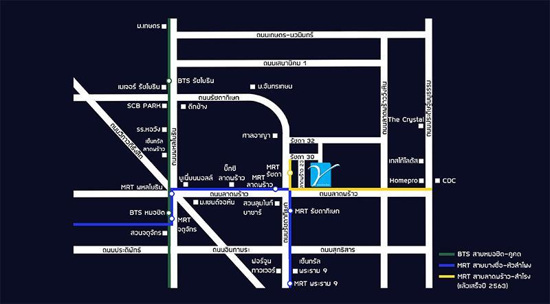 เย็นสบายดี Project Map