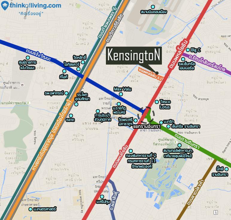 แผนที่อุดมสมบูรณ์ Kensington63