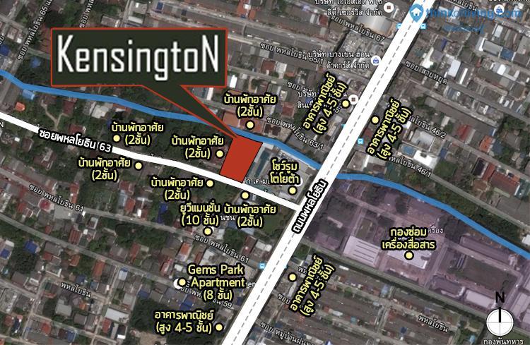 Map Zoom Kensington 63