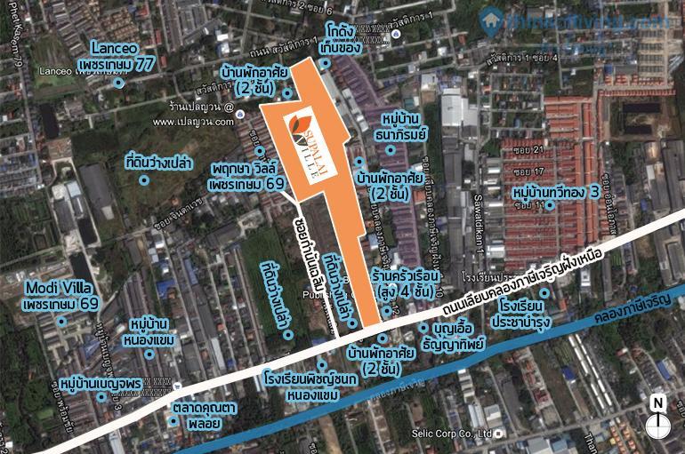 Map zoom ศุภาลัย