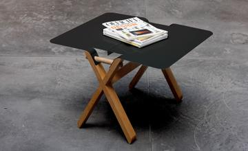 """โต๊ะนั่งจิบกาแฟ """"Mobilier"""" แยกส่วน ประกอบง่าย ยกง่าย"""