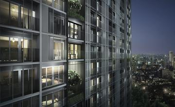 a space I.D. Asoke-Ratchada คอนโดใกล้เซ็นทรัลพลาซ่า แกรนด์ พระราม 9 By Areeya Property Plc.