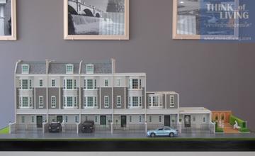 พาดูทำเล The Preston Townhome ทาวน์โฮม 3 ชั้น สไตล์ Modern English ในซอยกรุงเทพกรีฑา 7 จาก J Group