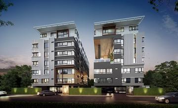 H2 Ramindra 21 คอนโด Low Rise 8 ชั้น 2 อาคารสไตล์ Modern Loft ในซอยรามอินทรา 21 จาก เอสเตท คิว [PREVIEW]